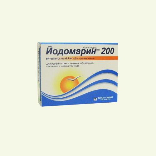 1 таблетка содержит действующее вещество: калия йодид 131 мкг, что соответствует содержанию йода 100 мкг калия йодид