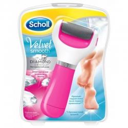 Шолл Пилка роликовая электрическая для стоп розовая экстражесткий ролик Scholl